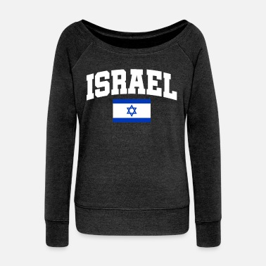 Israel Israel - Women's Boat Neck Long Sleeve Top