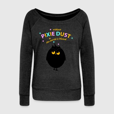 pixie dust(a)  - Women's Boat Neck Long Sleeve Top