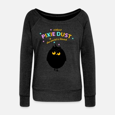 Pixie pixie dust(a)  - Women's Boat Neck Long Sleeve Top