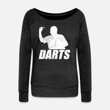 Darts darts - Women's Boat Neck Long Sleeve Top