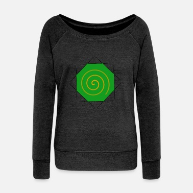 Hypnosis hypnosis - Women's Boat Neck Long Sleeve Top