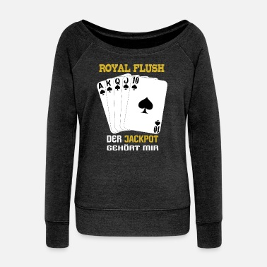 Royal Flush Royal flush jackpot - Vrouwen U-hals longsleeve