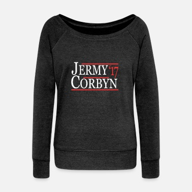 Labour Jeremy Corbyn Labour Leader - Women's Boat Neck Long Sleeve Top
