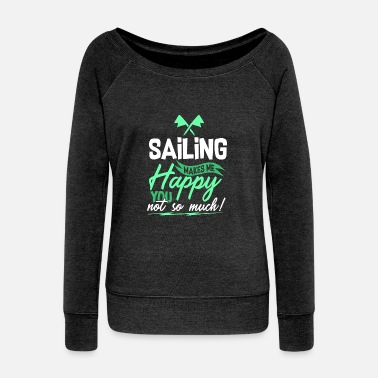 Sailing Sailing - Sailing - Women's Boat Neck Long Sleeve Top
