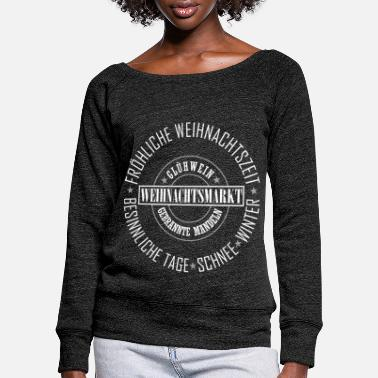 Christmas Market Christmas Market - Women's Wide-Neck Sweatshirt