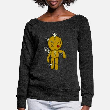Voodoo voodoo - Women's Wide-Neck Sweatshirt