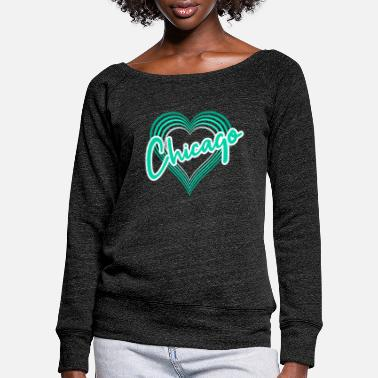 Chicago Chicago - Pull col bateau Femme