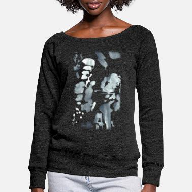 Silver silver - Women's Wide-Neck Sweatshirt