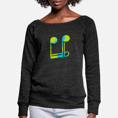 Grade grade - Women's Wide-Neck Sweatshirt