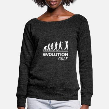 Freihzeit Evolution golf - Women's Wide-Neck Sweatshirt