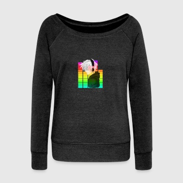 Electronic Music - Anime - Women's Boat Neck Long Sleeve Top