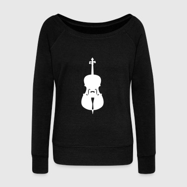 cello - Women's Boat Neck Long Sleeve Top