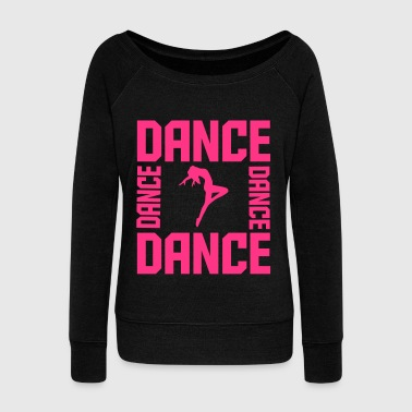 Dance - Women's Boat Neck Long Sleeve Top