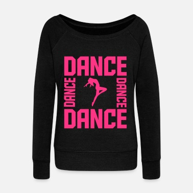 Street Dance Dance - Women's Boat Neck Long Sleeve Top