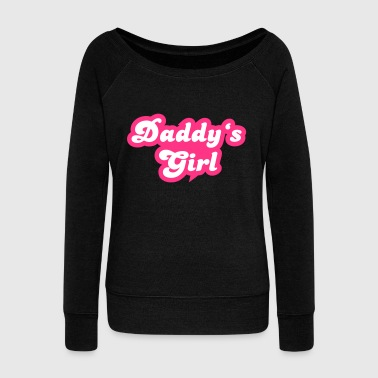 Daddys Girl Daddy's Girl - Women's Boat Neck Long Sleeve Top