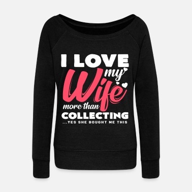 Collections Collecting - Women's Wide-Neck Sweatshirt