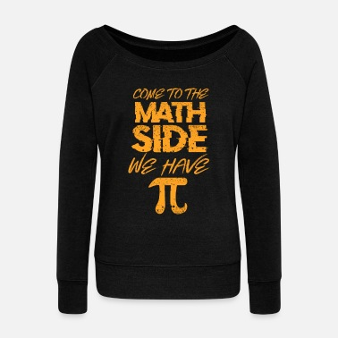 Math Math math - Women's Boat Neck Long Sleeve Top