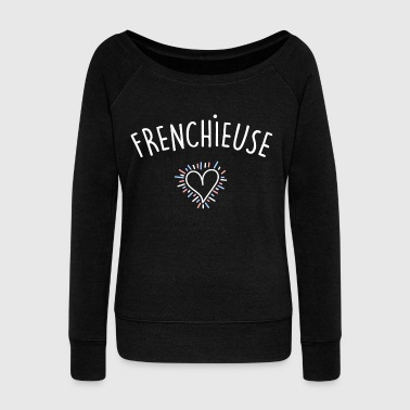 Frenchieuse - Pull Femme col bateau de Bella