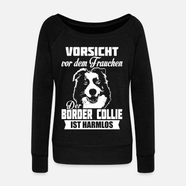 Border Collie Border Collie - Bluza damska Bella z dekoltem w łódkę