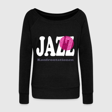 Isle Of Wight JAZZ confrontations - Women's Boat Neck Long Sleeve Top