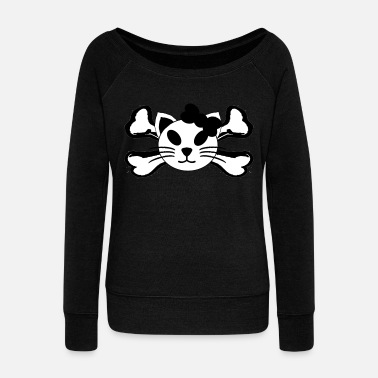 Gothic gothic - Women's Boat Neck Long Sleeve Top