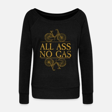 Gas All Ass No Gas - Damegenser med båthals fra Bella