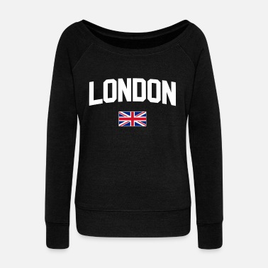 Souvenir London - Women's Wide-Neck Sweatshirt