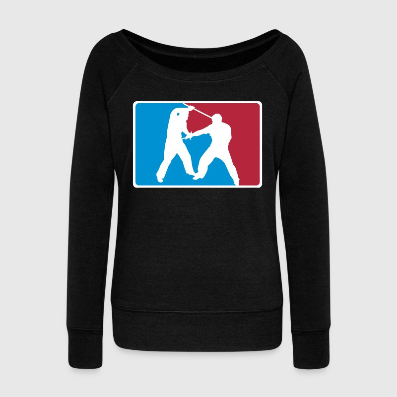 Arnis Logo Direct - Women's Boat Neck Long Sleeve Top