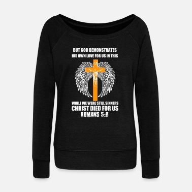 Christian Christianity - Women's Wide-Neck Sweatshirt