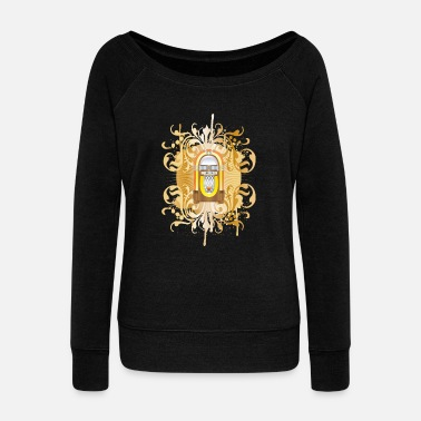Jukebox jukebox - Women's Boat Neck Long Sleeve Top