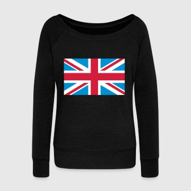 Union Jack - Women's Boat Neck Long Sleeve Top