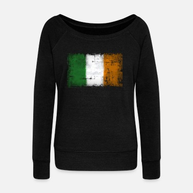 Ireland Ireland - Ireland - Women's Boat Neck Long Sleeve Top