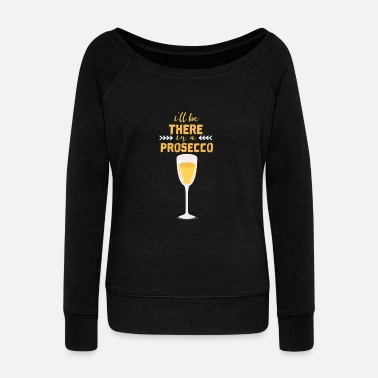 Prosecco Prosecco - Women's Boat Neck Long Sleeve Top