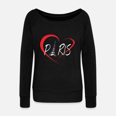 I Love Paris I Love Paris - Pull Femme col bateau de Bella