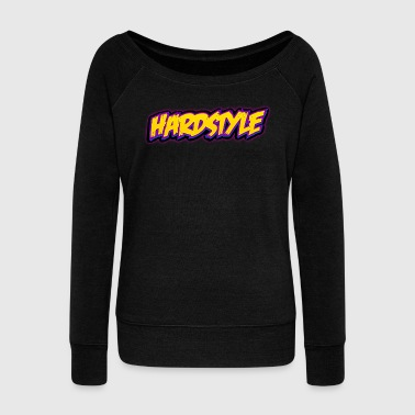 Jumpstyle Hardstyle / Rave / Jumpstyle - Women's Boat Neck Long Sleeve Top