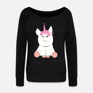 Women's Wide-Neck Sweatshirt