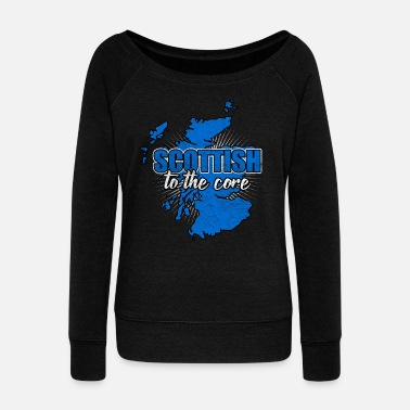 National Scotland nation Edinburgh nation nationality - Women's Boat Neck Long Sleeve Top