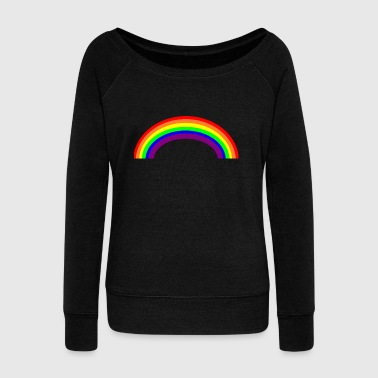Gay rainbow - Women's Boat Neck Long Sleeve Top