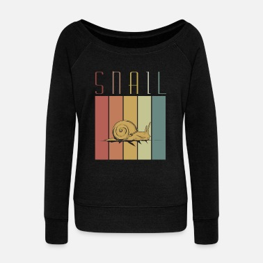 Escargot Escargot, escargot, escargot - Pull Femme col bateau de Bella