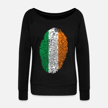 Ireland IRELAND / IRELAND - Women's Boat Neck Long Sleeve Top