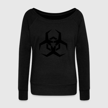 virus - Women's Boat Neck Long Sleeve Top