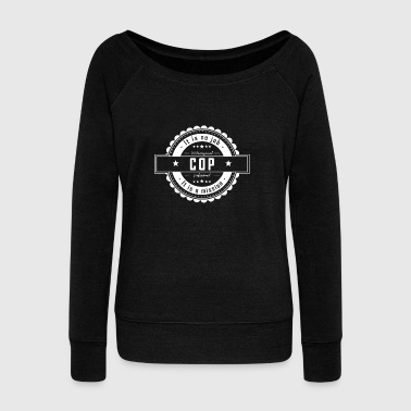 Cop COP - Women's Boat Neck Long Sleeve Top