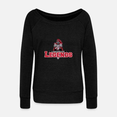 Legend Legends - Women's Wide-Neck Sweatshirt