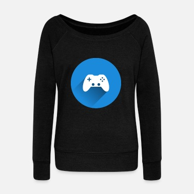 Controller controller - Women's Boat Neck Long Sleeve Top