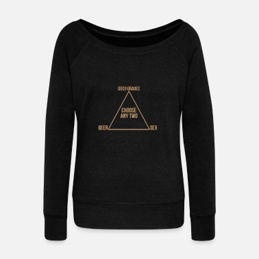 Study to study - Women's Boat Neck Long Sleeve Top