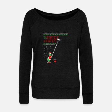 Grinch Grinch Christmas gift - Women's Boat Neck Long Sleeve Top