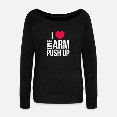 Push Up Jedna ręka Push Up - Bluza damska Bella z dekoltem w łódkę