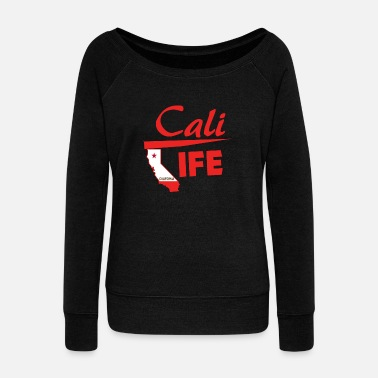 Californie Californie - Californie - Pull Femme col bateau de Bella