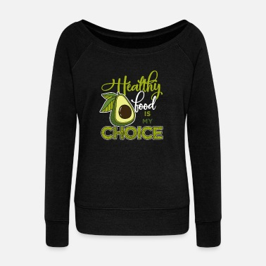 Wear Health Vegan Sports Animal Lover Gift - Women's Boat Neck Long Sleeve Top