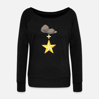 Rock Music Rock music - Women's Boat Neck Long Sleeve Top